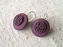Sady šperkov - jednoduché fialové - 6152402_