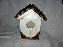 Pre zvieratká - drevená búdka pre vtáčiky - 6152437_
