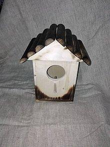 Pre zvieratká - drevená búdka pre vtáčiky - 6152436_
