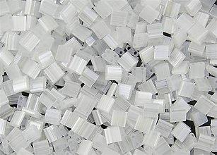 Korálky - Miyuki Tila Beads TL2548 - Crystal Silk Satin (10g) - 6151910_