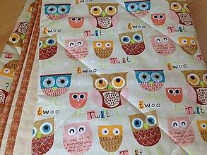 Úžitkový textil - Béžová sovičková deka - 6151659_