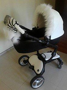Textil - Luxusná súprava na Váš kočík - 6157192_
