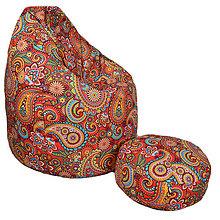 Nábytok - Dizajnový sedací vak TAKOY 2XL+podnožka zdarma poťah 122 - 6156181_