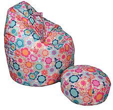 Nábytok - Dizajnový sedací vak TAKOY 2XL+podnožka zdarma poťah 372 - 6156208_