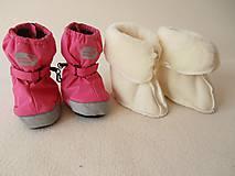 VLNIENKA barefoot vložky do zimných capačiek 100 % MERINO Boot Liners/  do capačiek Muddy Puddles