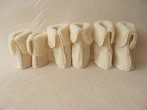 Topánočky - Merino vložky / stielky do capačiek STONZ - 6156349_
