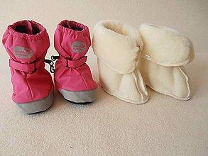 Topánočky - VLNIENKA barefoot vložky do zimných capačiek 100 % MERINO Boot Liners/  do capačiek Muddy Puddles - 6156469_