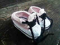 Topánočky - T e n i s k y /..ružovky (do 1 r.) - 6155692_