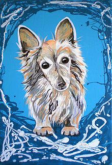 Obrázky - portrét zvieratka podľa fotky - 6156185_