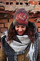 Čiapky - ruženka zimná hnedá - 6153345_