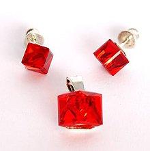 Sady šperkov - Swarovski kocky - 6154361_