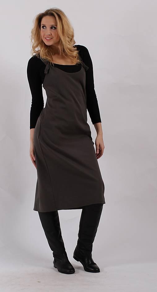 Šedá šatová sukně   ladeesse - SAShE.sk - Handmade Šaty 7e4094e571