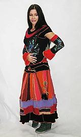 folk-energy lelovica maxi sukňa