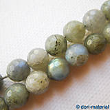 Minerály - labradorit, 7 mm - 6161678_