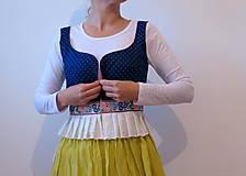 Topy - modern prucel modrotlač - 6158305_