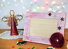 Rámiky - Vianočný fotorámček - 6161721_