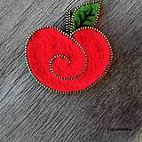 Odznaky/Brošne - Jabĺčko - 6160673_