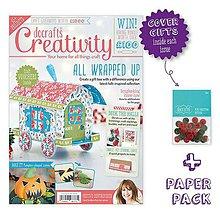 Návody a literatúra - Creativity časopis č. 63 október 2015 + 2 darčeky - 6164201_