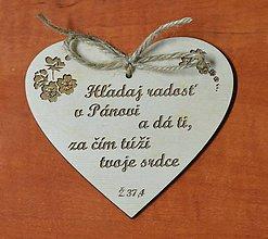Tabuľky - tabuľka srdce Ž 37,4 - 6165055_