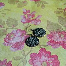 Náušnice - Purple bells flower - náušnice 25 mm - 6162972_