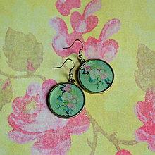 Náušnice - Japanese flowers - 6163049_