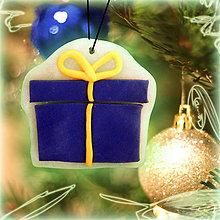 Dekorácie - Svietiaca vianočná dekorácia (balíček) - 6164053_