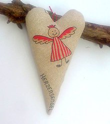 Dekorácie - môj Anjelik  21 cm - 6167012_