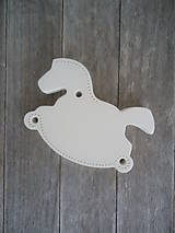 Dekorácie - Koník biely - 6166805_