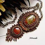 Náhrdelníky - Korálkový náhrdelník 589-0024 - 6167944_