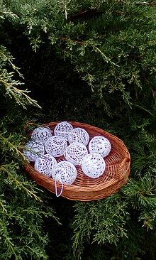 Dekorácie - Háčkované vianočné gule II - 6169485_