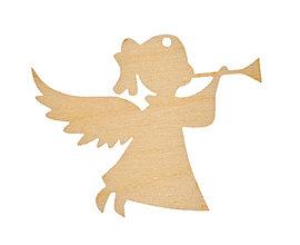 Materiál ručne robený - Anjel - 6167552_