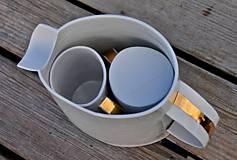 nápojová súprava porcelánová