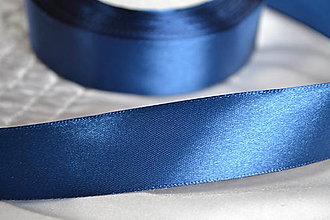 Galantéria - Stuha modrá 25mm, 0.22€/meter - 6167662_