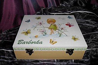 Krabičky - šperkovnica-Barborka - 6166441_