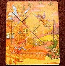 Hračky - tangram - malé víly - 6170651_