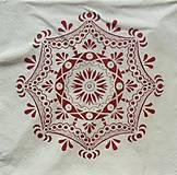 Papier - S549 - Servítky - vianoce, folk, folklór, ornament - 6172039_