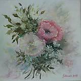 Obrazy - vintage kvety - 6171156_