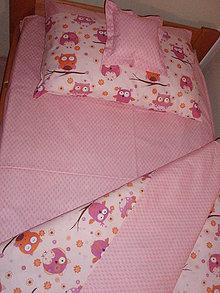 Úžitkový textil - Detské sovičkové obliečky - 6174527_