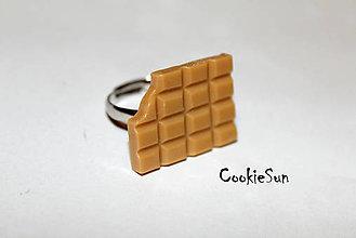 Prstene - Čokoládový prstienok... - 6173927_