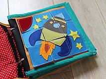 Hračky - Samkova quiet book - 6174020_
