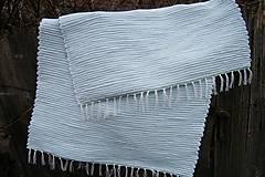 - Tkaný koberec svetlý, tyrkysový - 6173184_