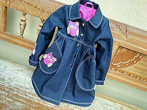 Detské oblečenie - sovičkový - 6174995_