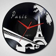 Hodiny - Paris - LP vinyl clocks - 6175795_
