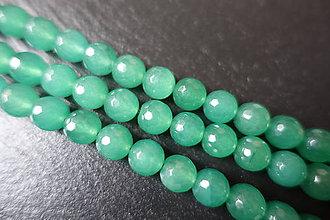 Minerály - Avanturín zelený fazetovaný 10mm - 6177123_