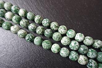 Minerály - Jadeit fazetovaný 10mm - 6177432_