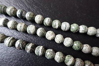 Minerály - Hadec (serpentinit) zelený fazetovaný 10mm - 6177872_