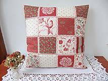 Úžitkový textil - Přírodní I.- luxusní polštářek v moderních barvách - 6178714_