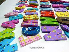 Hračky - ....kompletna abeceda...s magnetom - 6179355_