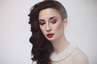 """Náhrdelníky - biely náhrdelník white dream - """"čas perly"""" - 6181745_"""