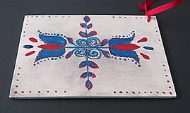 Papiernictvo - Slovenské ľudové drevené pohľadnice - 6181914_